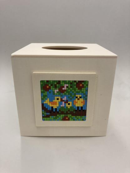 Kleenex Box mit Pixel Rahmen XL