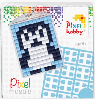 Pixelhobby Schlüsselanhänger Pingu
