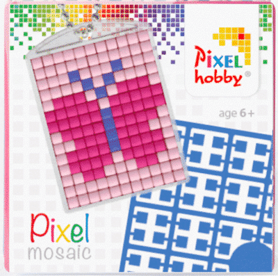 Pixelhobby Schlüsselanhänger Schmetterling