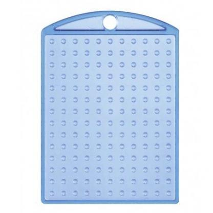 Pixelhobby Schlüsselanhänger Medaillon Blau