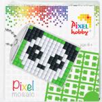 Pixel Schlüsselanhänger Panda
