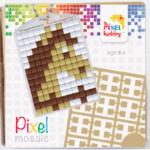 Pixel Schlüsselanhänger Pferd