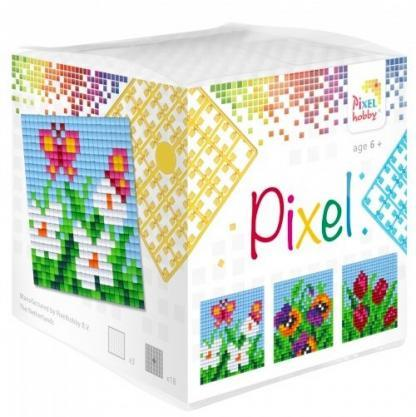Pixelhobby Wuerfel Blumen