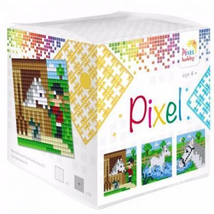 Pixelhobby Wuerfel Pferde